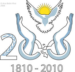 Logo Argentina Bicentenario by AnaBelenRuiz