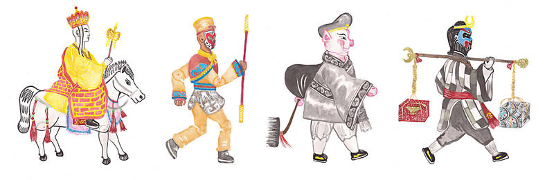 Journey to the West - Characters