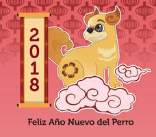 Year of the dog character
