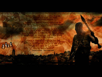 Forever Palestine by yazoor