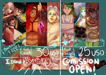 COMISSION OPEN!!