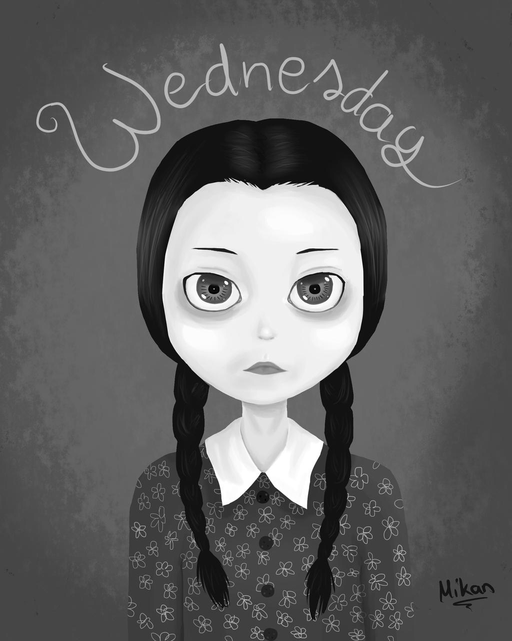 Wednesday Addams Wallpaper Keyword Data Related Wednesday