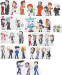 Ace Attorney Chibies Oh My