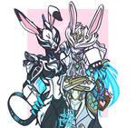 Valkyr x Mesa (Easter)