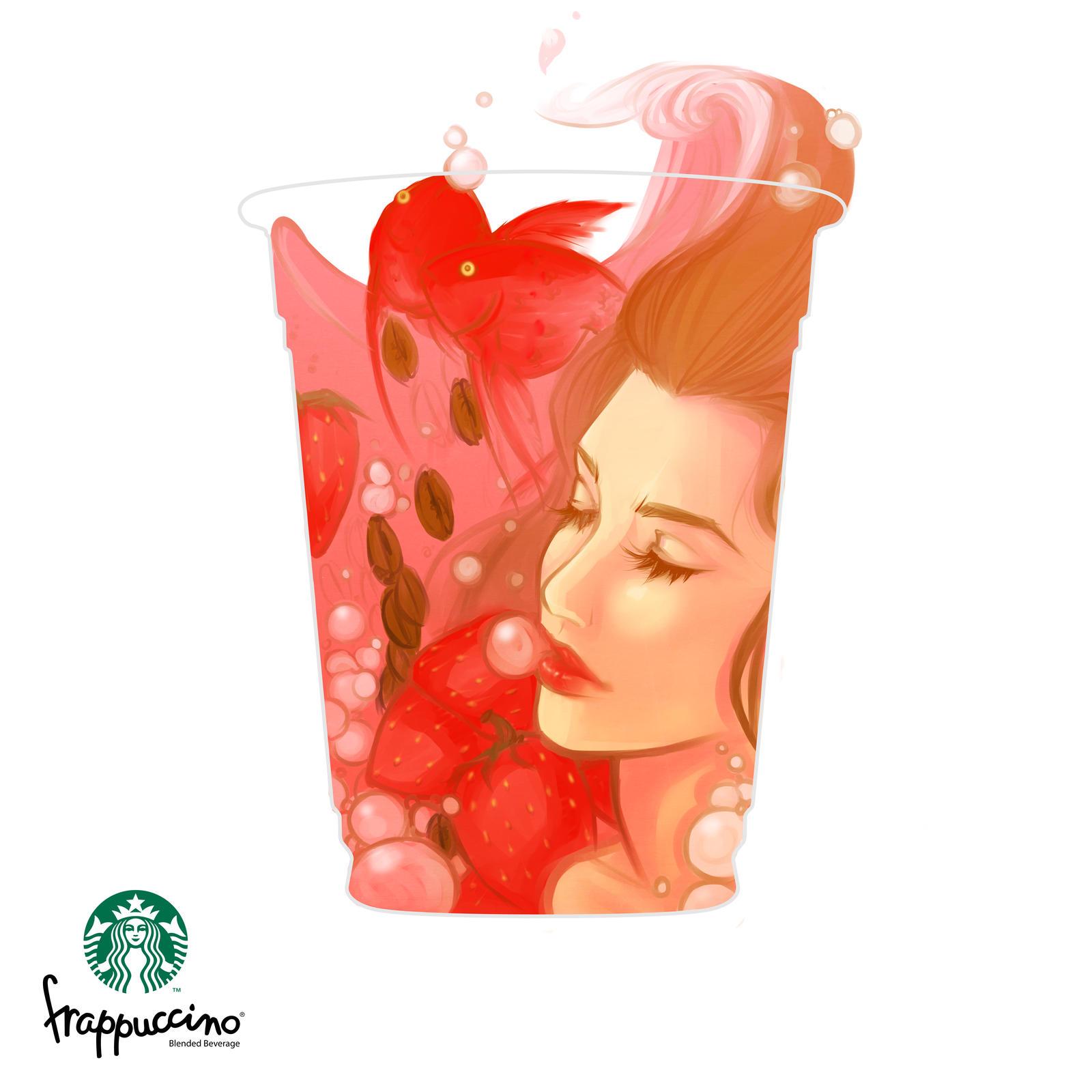 Coffeeholic Strawberry Dreammm by Newsha-Ghasemi