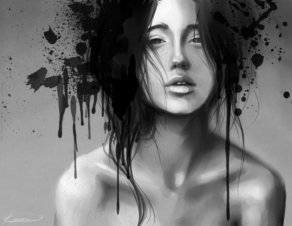 Portrait of the Insane by Newsha-Ghasemi