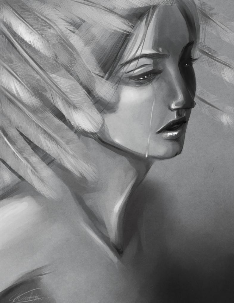 Swan Princess by Newsha-Ghasemi