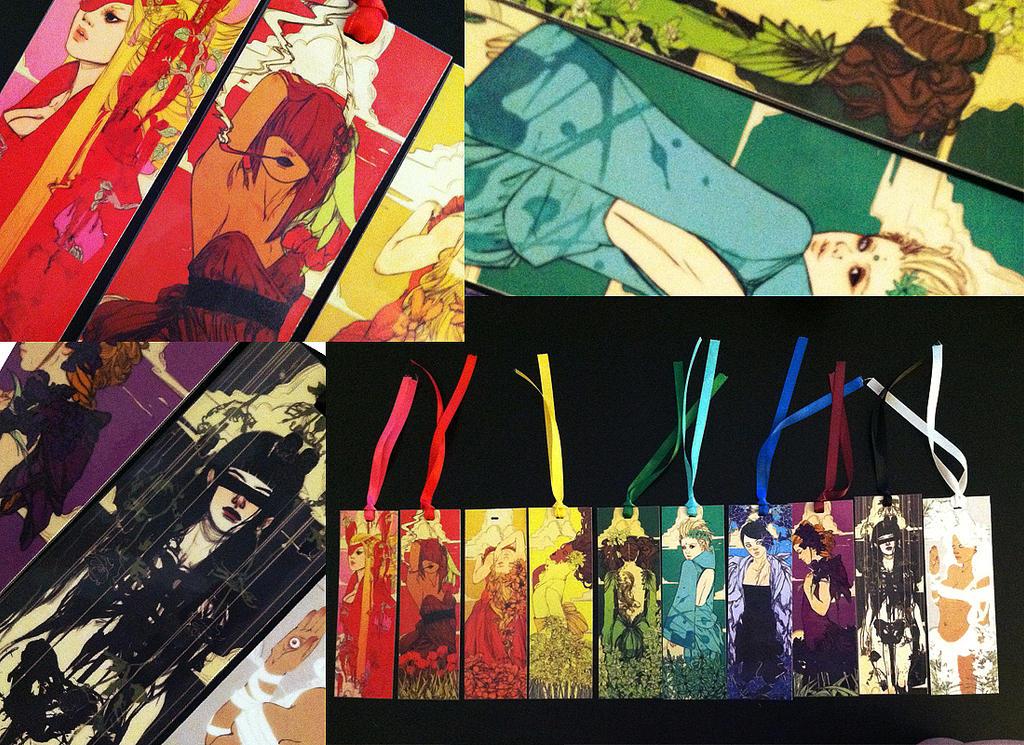 Printed Bookmarks by Newsha-Ghasemi