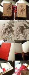 Snow White Moleskin Sketchbook: SOLD by Newsha-Ghasemi