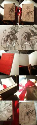 Snow White Moleskin Sketchbook: SOLD