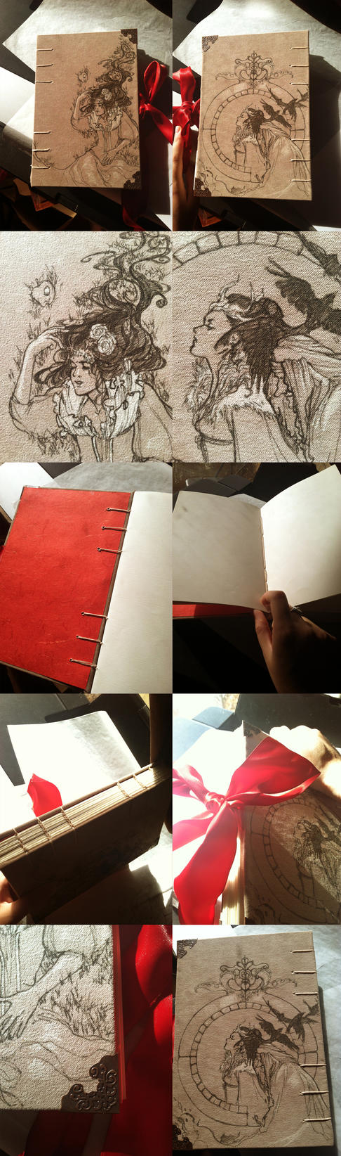 Snow White Moleskin Sketchbook: SOLD by Newsha-Ghasemi
