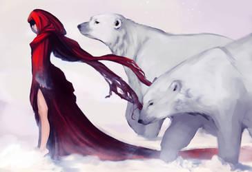 Creatures of Snow by Newsha-Ghasemi