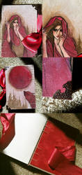 Red Riding Hood Moleskin: FOR SALE by Newsha-Ghasemi