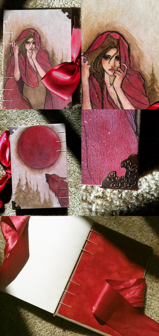 Red Riding Hood Moleskin: FOR SALE by Newsha-Ghasemi