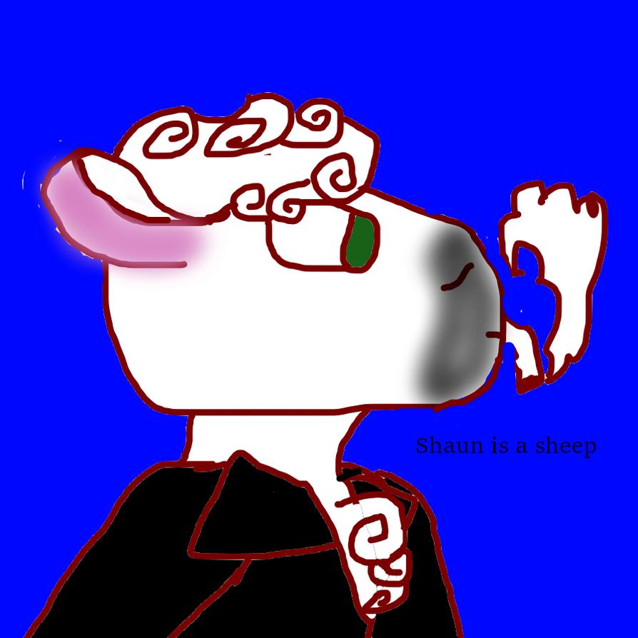 Shaun is a sheep by Pollo-Libre