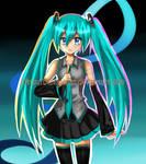 Vocaloid- Hatsune Miku by BillieKlemm