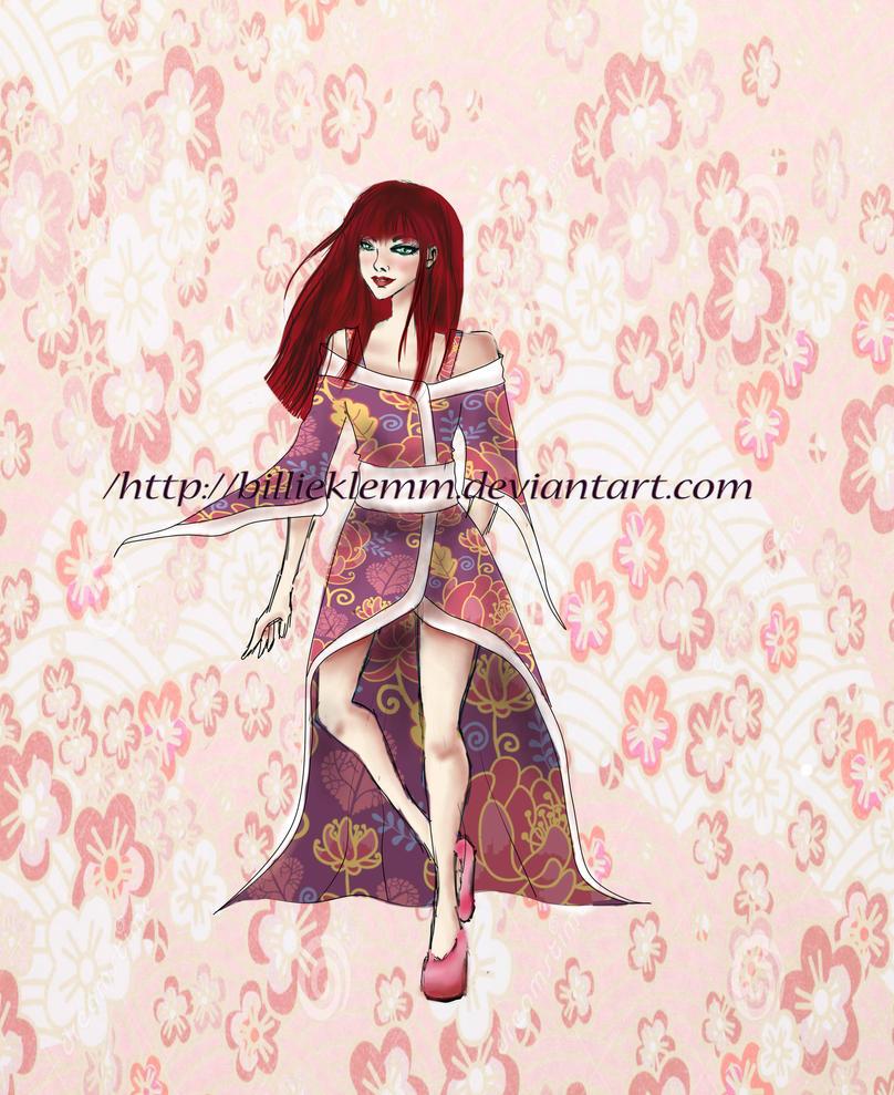 Modern Age Kimono by BillieKlemm