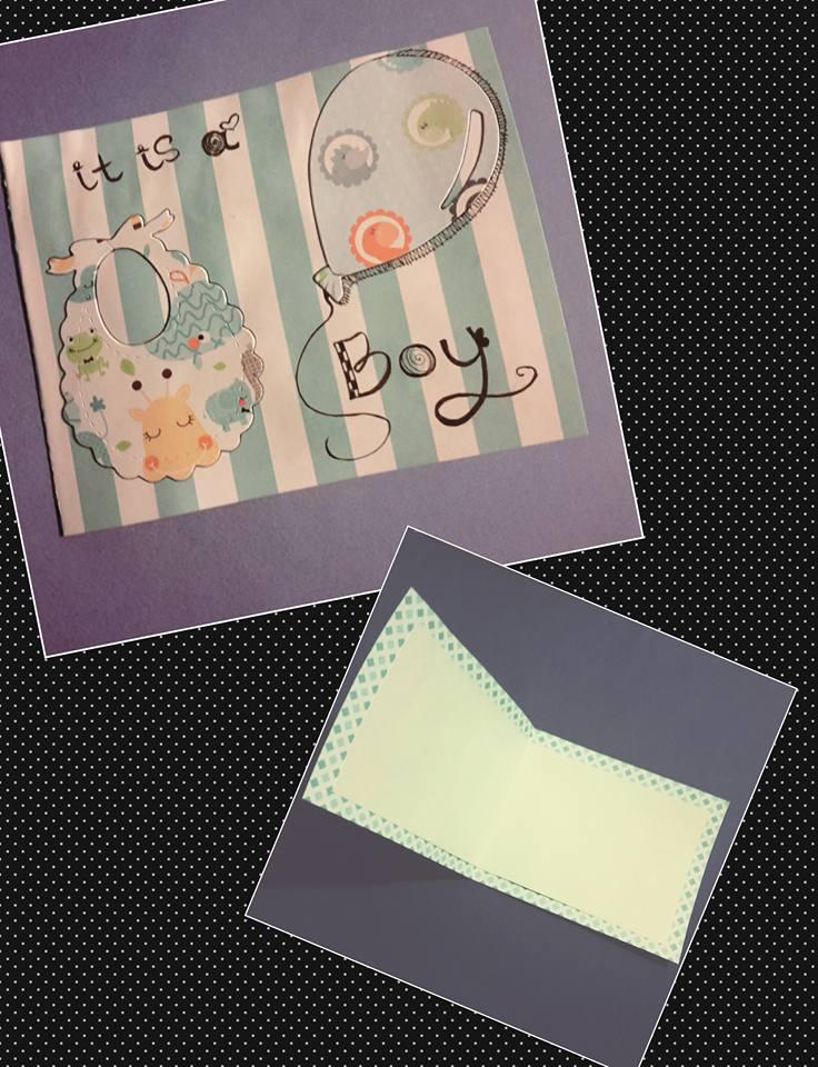 It's a Boy Card by BillieKlemm