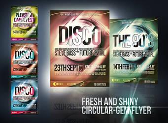 Shiny Circular-Gem Flyer