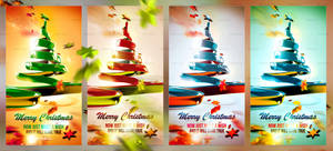 Christmas Ribbon Tree 2