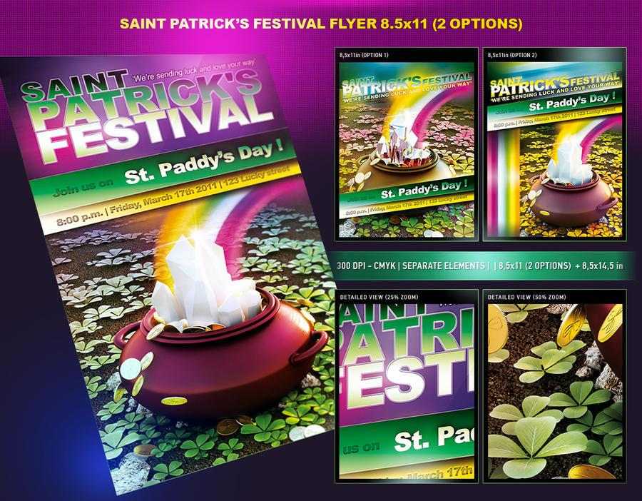 Saint Patricks Festival Flyer by csuz