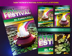 Saint Patricks Festival Flyer