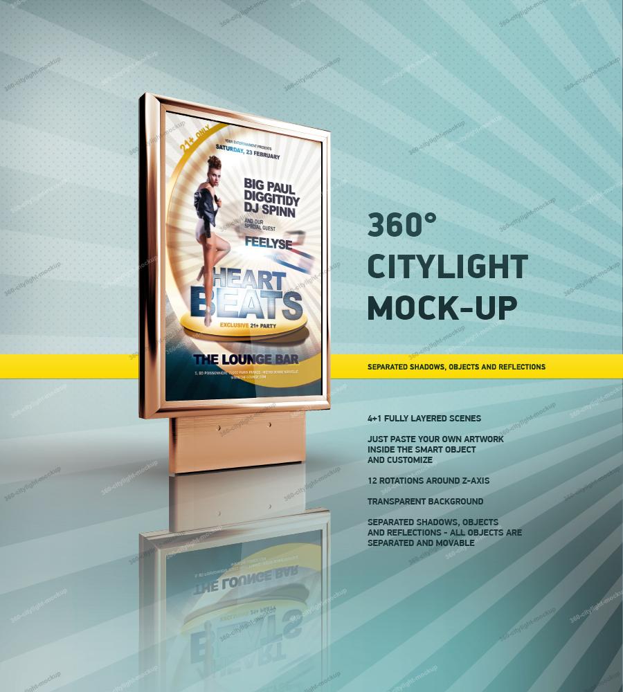 360 CityLight Mockup by csuz