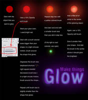 Simple Glow tutorial by danzr4ever