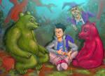 New illustration for new children book