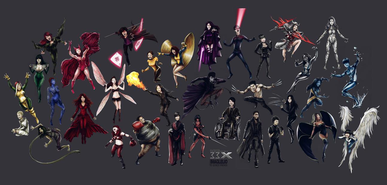 33 MUTANTS of X-MEN by Imaglelio on deviantART X 23 Gambit