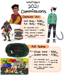 2021 commissions [OPEN]