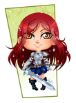 Chibi Erza Scarlet by Chibi-Lili