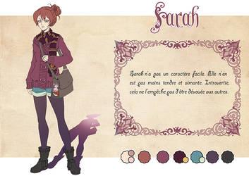 Charactere Sheet - Magical Seasons - Sarah by Chibi-Lili