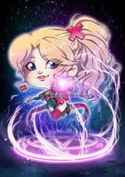Chibi Seltz Magie by Chibi-Lili