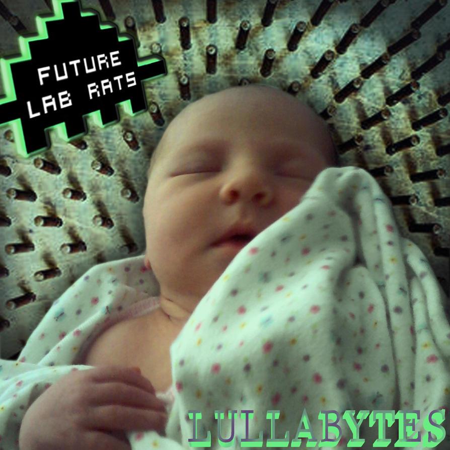 Future Lab Rats - lullabytes (album cover) by DigiratComics