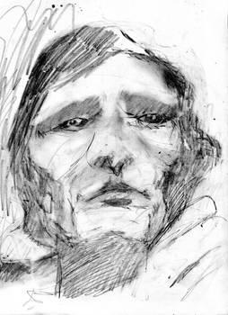 Sketch of Antonin Artaud