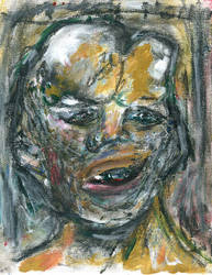 Joseph Carey Dada Merrick (2019) Pastels. 10$