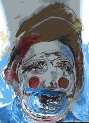 Fixx the Hatt (2019) Watercolor on paper SOLD