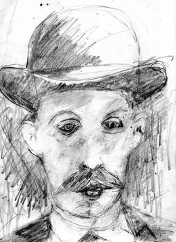 Albert Fish (Serial Killer) Drawing