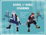 [PREORDERS] SORA RIKU charms by ChoiKyongKofuu