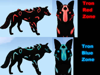 Tron adoptable 2-3 by Vintage-Mutt