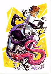 Venom Bottle by LittleDisgustingBug