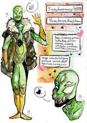 Spidersona Character Sheet by LittleDisgustingBug