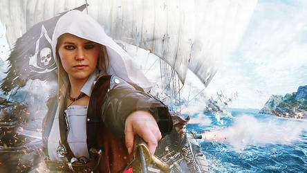 Kenway cosplay by Princess-Of-Persia