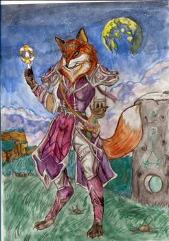 Fox Priestess- In Progress!