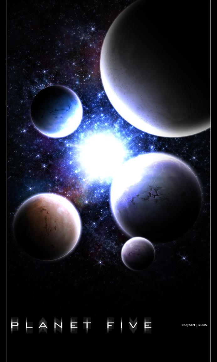Planet Five by cboyzart