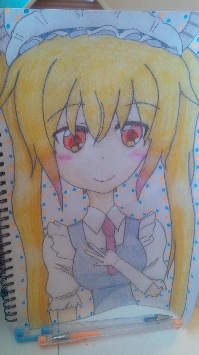 FanArt - Tohru dragon maid~ by fatmasparkle