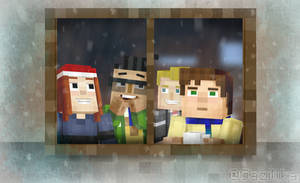 Minecraft Story Mode | Winter by Gazillka