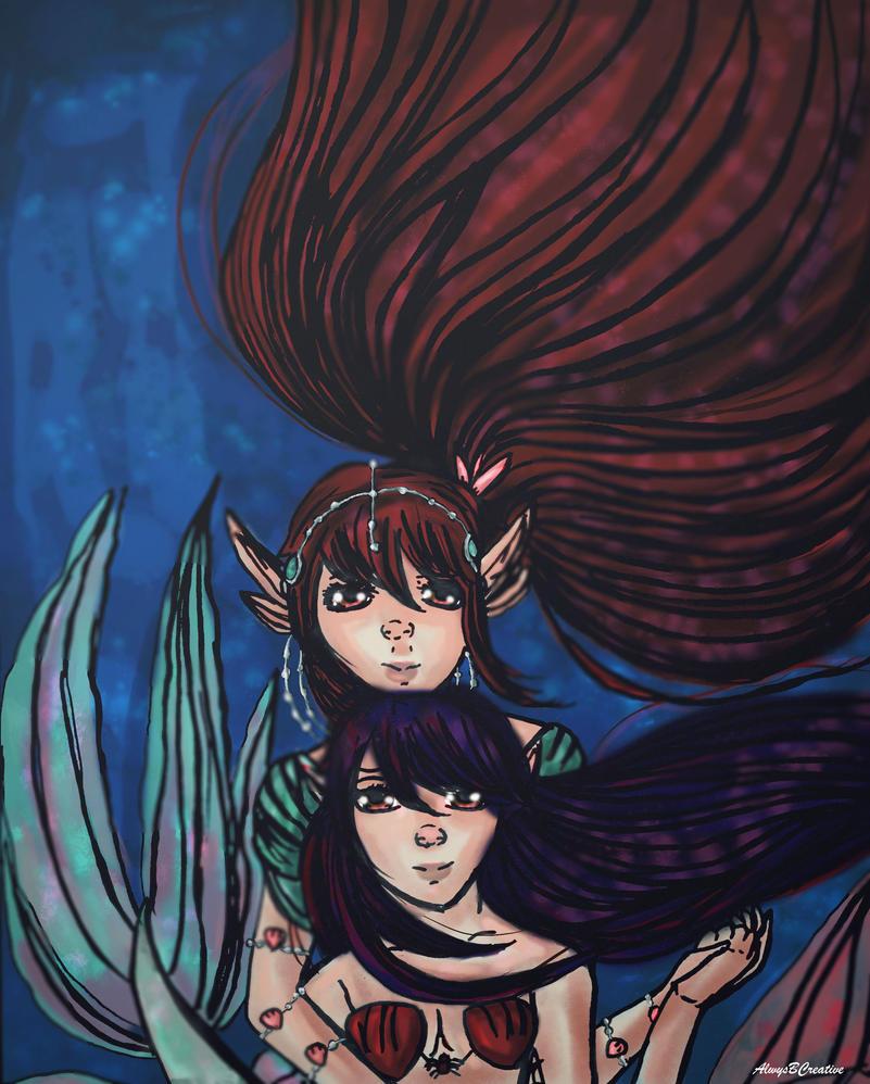 Ocean Hearts-MerMay + Speedpaint by AlwysbCreative