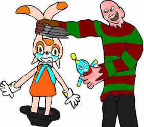 Freddy vs Cream by evil-ed316